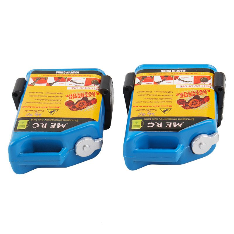 2-Unids-1-10-Escala-Rc-Accesorio-de-Oruga-Mini-Tanque-de-Combustible-Para-T-1H2 miniatura 25