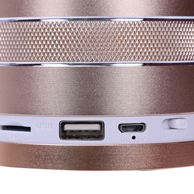 1X-S102U-Altavoz-Bluetooth-Inalambrico-Luz-Colorida-Portatil-Mini-Altavoz-Ta-X3 miniatura 35
