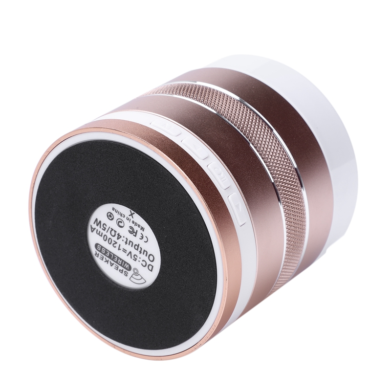 1X-S102U-Altavoz-Bluetooth-Inalambrico-Luz-Colorida-Portatil-Mini-Altavoz-Ta-X3 miniatura 37