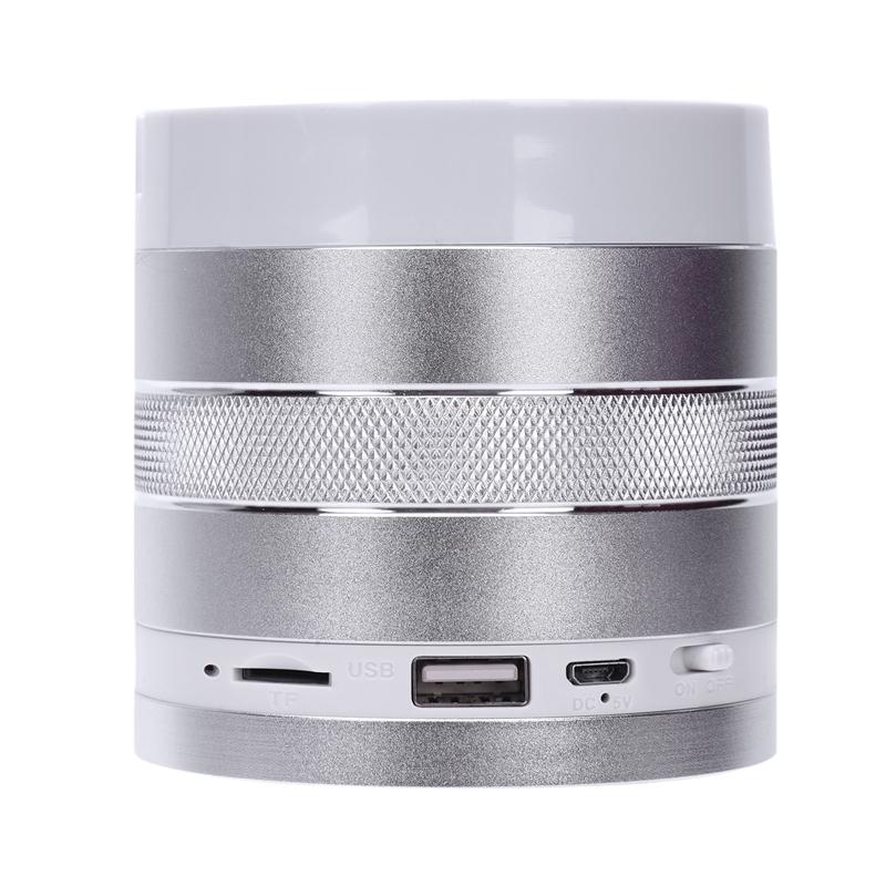 1X-S102U-Altavoz-Bluetooth-Inalambrico-Luz-Colorida-Portatil-Mini-Altavoz-Ta-X3 miniatura 43