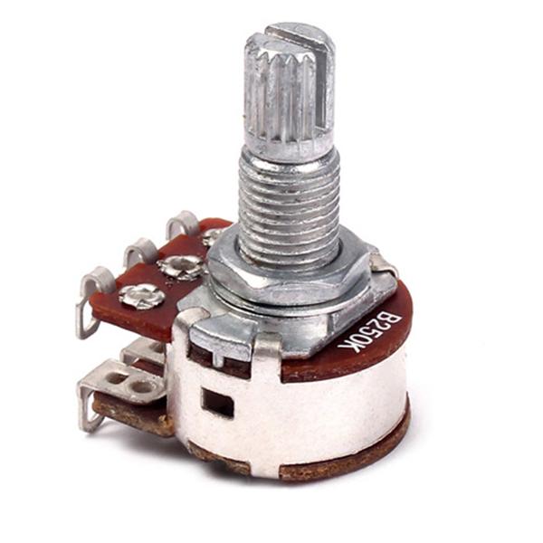 Potentiometres-Pots-Guitare-Petite-Taille-Pour-Pieces-Basse-Guitare-Lot-de-L2R1 miniature 4