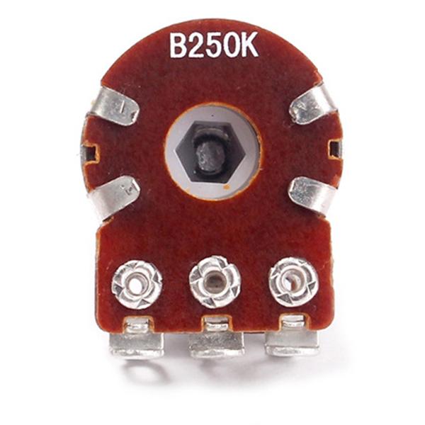 Potentiometres-Pots-Guitare-Petite-Taille-Pour-Pieces-Basse-Guitare-Lot-de-L2R1 miniature 5