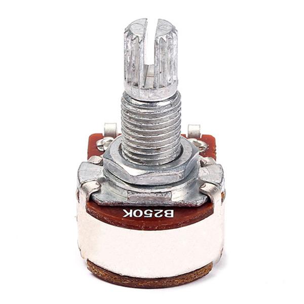 Potentiometres-Pots-Guitare-Petite-Taille-Pour-Pieces-Basse-Guitare-Lot-de-L2R1 miniature 6