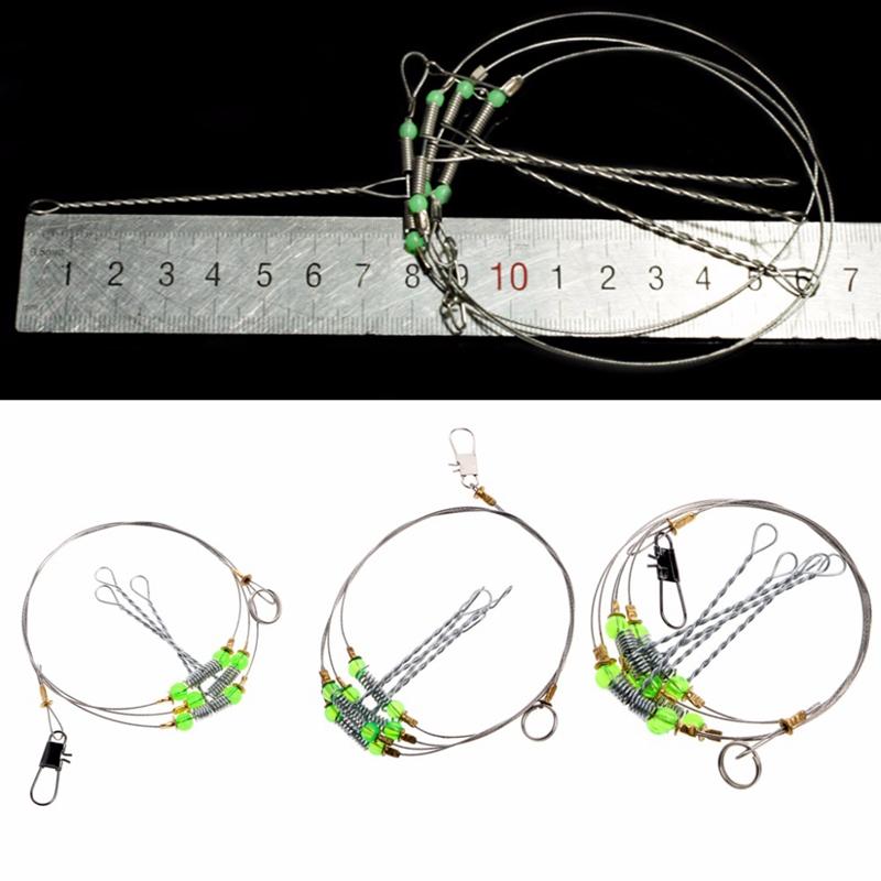 5Pcs-Fishing-Hooks-Anti-Winding-Swivel-String-Sea-Fishing-Hook-Steel-Rigs-W-S8Z2 miniatuur 6