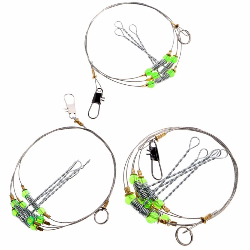 5Pcs-Fishing-Hooks-Anti-Winding-Swivel-String-Sea-Fishing-Hook-Steel-Rigs-W-S8Z2 miniatuur 8