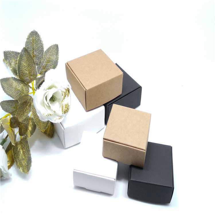 2X-100Pcs-Kraft-Paper-Box-Nice-Kraft-Box-Packaging-Box-Small-Size-G5A1 thumbnail 13