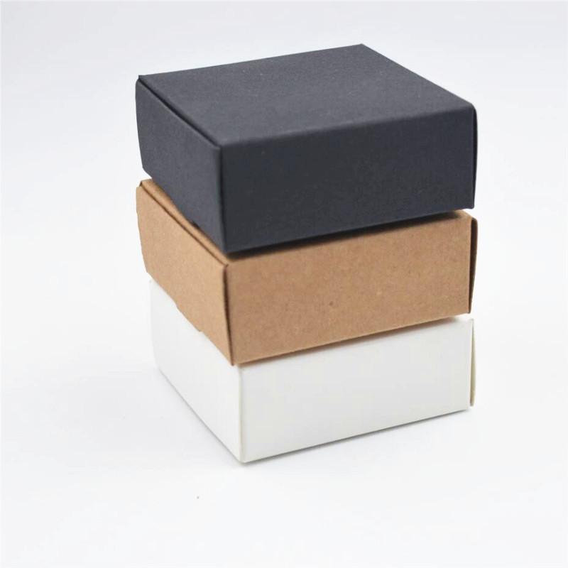2X-100Pcs-Kraft-Paper-Box-Nice-Kraft-Box-Packaging-Box-Small-Size-G5A1 thumbnail 19