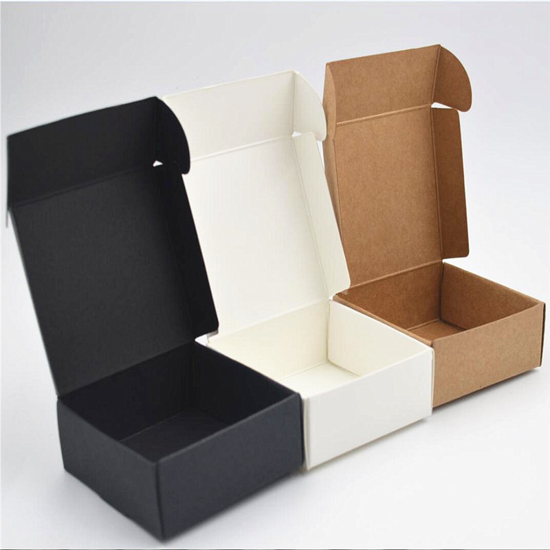 2X-100Pcs-Kraft-Paper-Box-Nice-Kraft-Box-Packaging-Box-Small-Size-G5A1 thumbnail 20