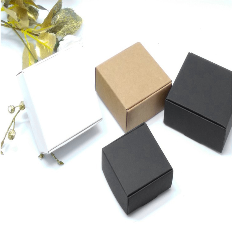 2X-100Pcs-Kraft-Paper-Box-Nice-Kraft-Box-Packaging-Box-Small-Size-G5A1 thumbnail 21