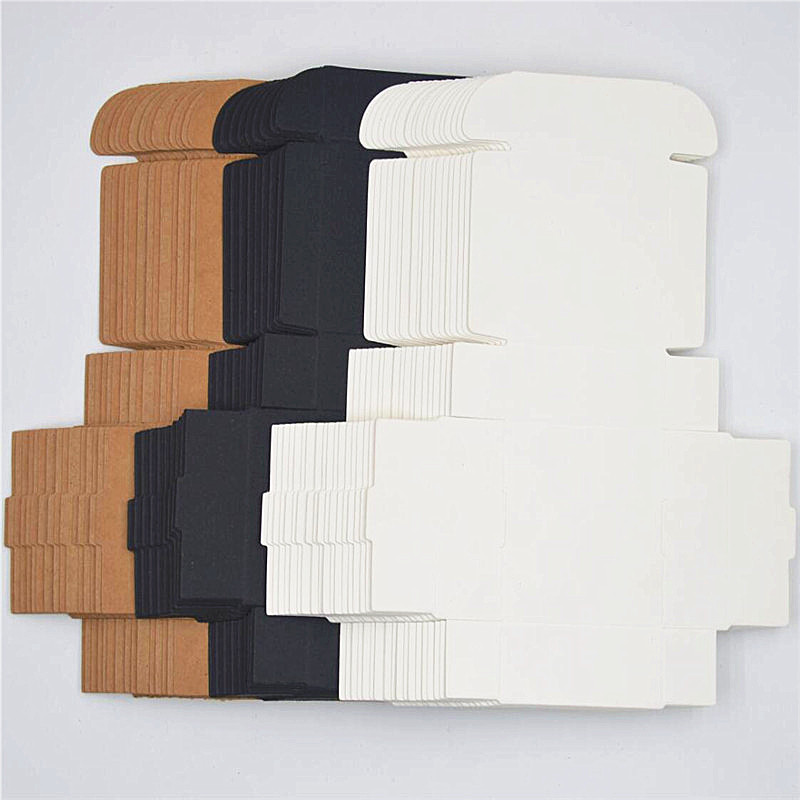 2X-100Pcs-Kraft-Paper-Box-Nice-Kraft-Box-Packaging-Box-Small-Size-G5A1 thumbnail 22