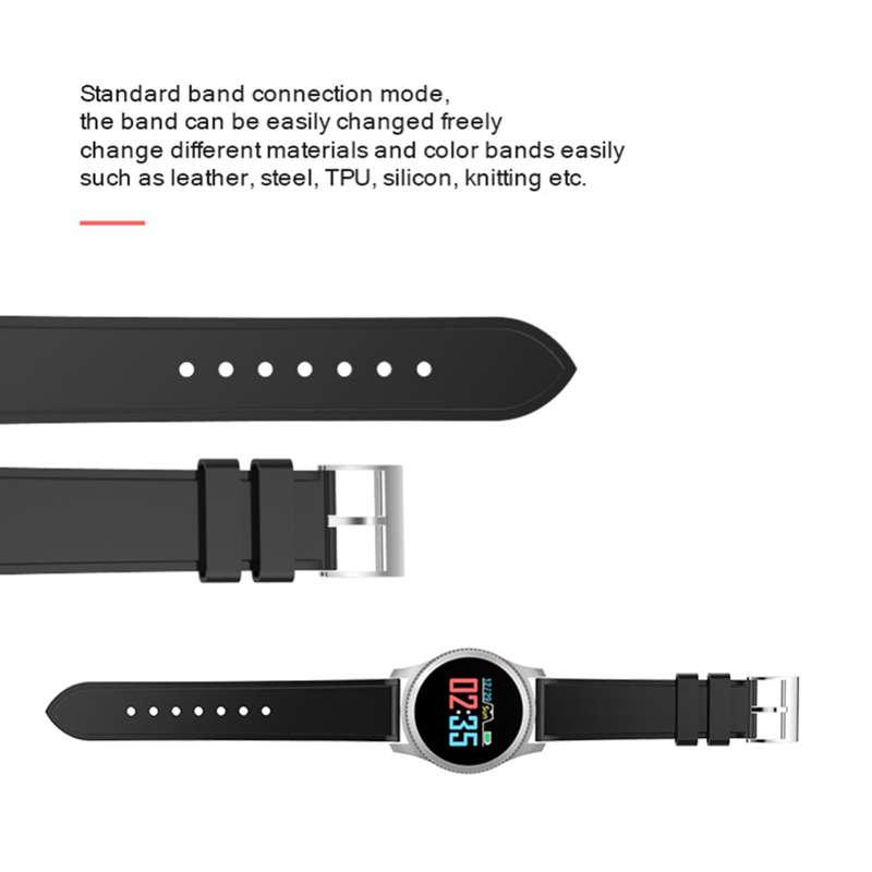 Nb-209-Bluetooth-0-95-Pulgadas-Pantalla-A-Color-Relojes-Inteligentes-Ip65-A9N5 miniatura 4