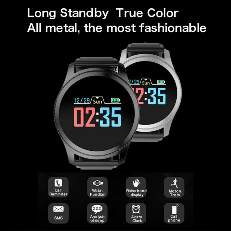 Nb-209-Bluetooth-0-95-Pulgadas-Pantalla-A-Color-Relojes-Inteligentes-Ip65-A9N5 miniatura 6