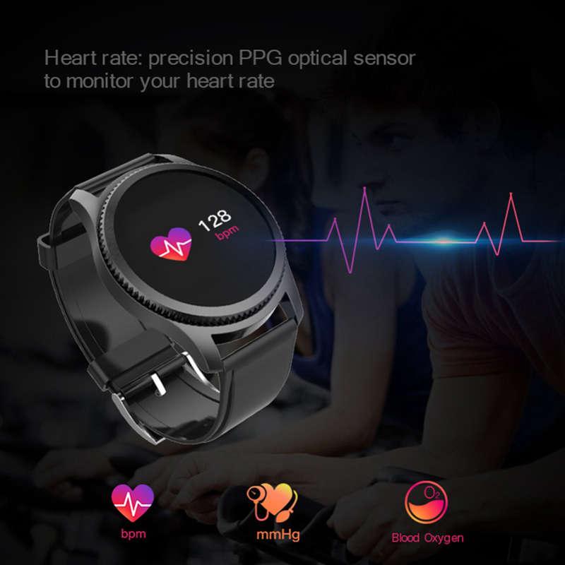 Nb-209-Bluetooth-0-95-Pulgadas-Pantalla-A-Color-Relojes-Inteligentes-Ip65-A9N5 miniatura 15