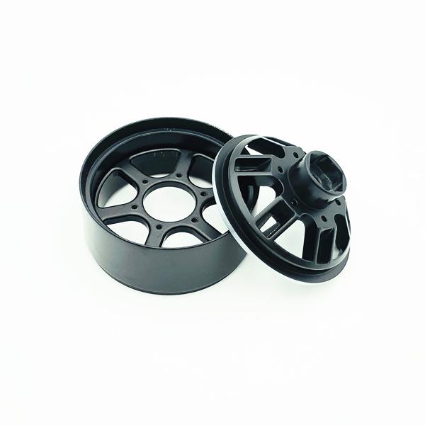 4Pcs-Rc-Rock-Roue-Roue-Jante-1-9-Pouce-Beadlock-Pour-1-10-Axial-Scx10-90046-6T4 miniature 17