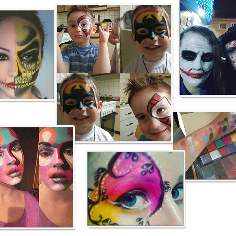 IMAGIC-12-Colors-Flash-Tattoo-Face-Body-Paint-Oil-Painting-Art-Use-In-Party-M6O2 thumbnail 7