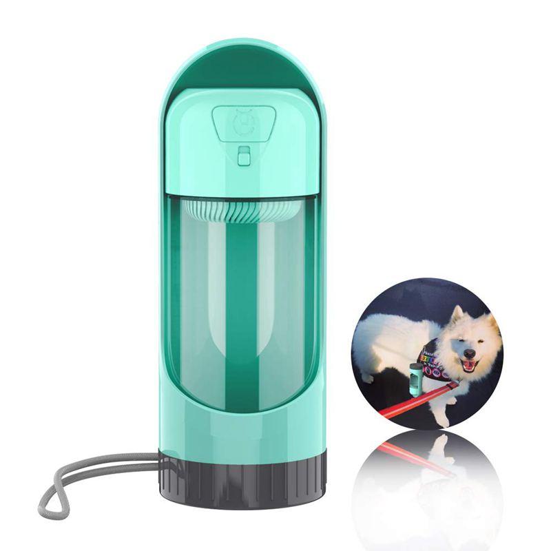 5X(Hund Wasserflasche für Spaziergänge und Reisen,Antibakterieller Leben W6G6)
