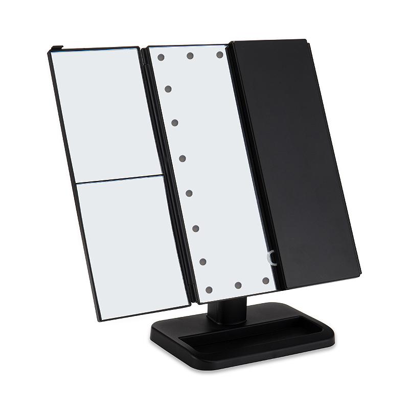 2X-LED-Press-Screen-22-Light-Makeup-Mirror-Table-Desktop-Makeup-1X-2X-3X-10-Q9T1 thumbnail 3