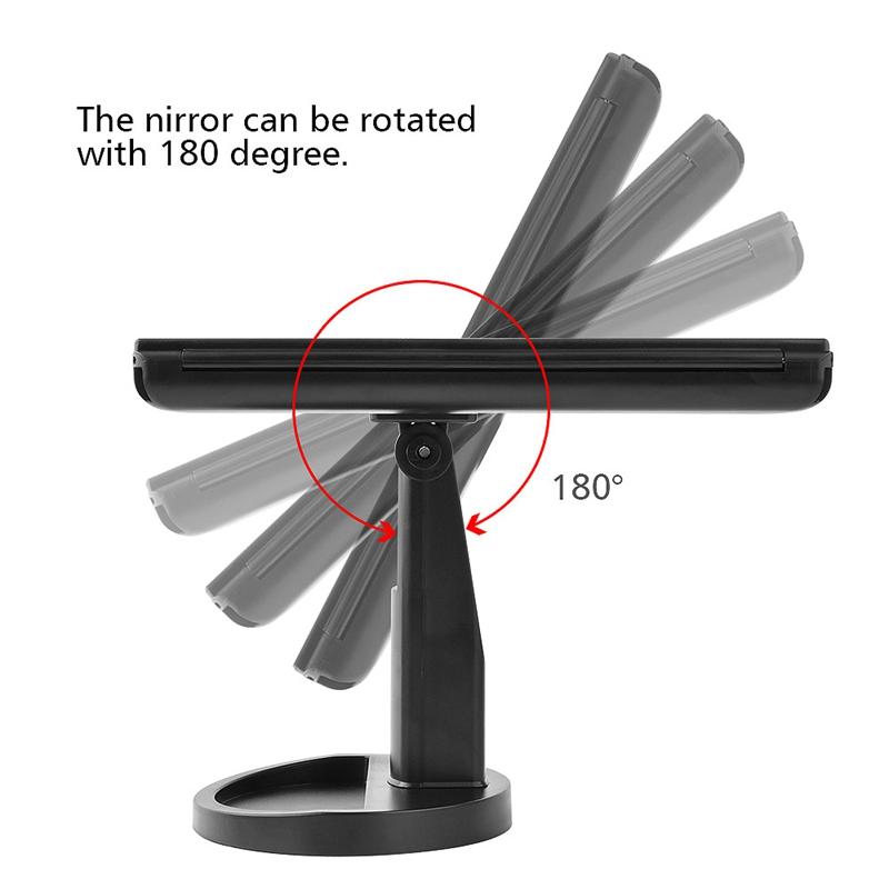 2X-LED-Press-Screen-22-Light-Makeup-Mirror-Table-Desktop-Makeup-1X-2X-3X-10-Q9T1 thumbnail 11