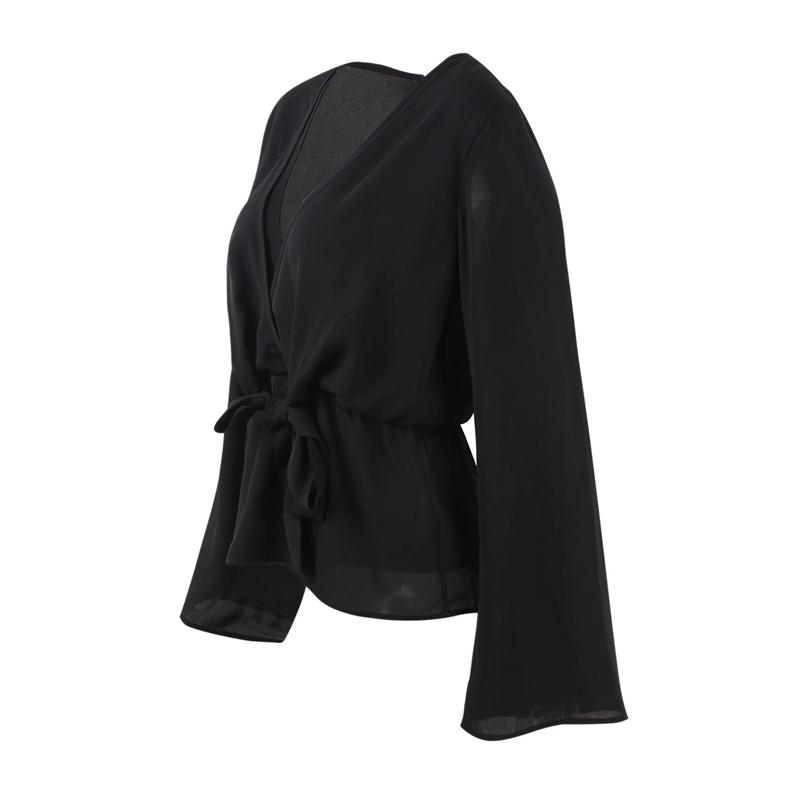 Veste-de-Couleur-Pure-D-039-Automne-A-La-Mode-Pour-Femme-Vetement-Elegant-de-Ta-B7Q4 miniature 4