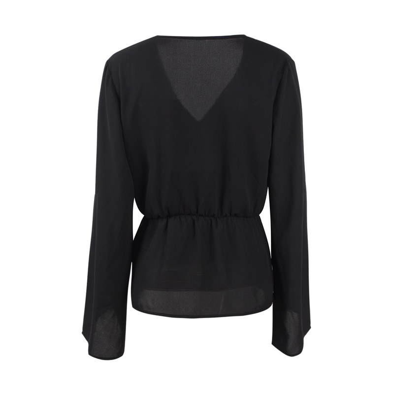 Veste-de-Couleur-Pure-D-039-Automne-A-La-Mode-Pour-Femme-Vetement-Elegant-de-Ta-B7Q4 miniature 5