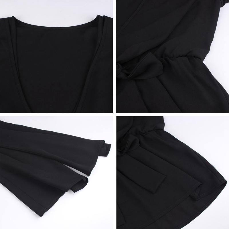 Veste-de-Couleur-Pure-D-039-Automne-A-La-Mode-Pour-Femme-Vetement-Elegant-de-Ta-B7Q4 miniature 6