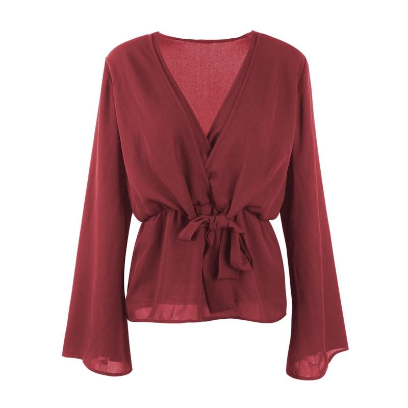 Veste-de-Couleur-Pure-D-039-Automne-A-La-Mode-Pour-Femme-Vetement-Elegant-de-Ta-B7Q4 miniature 10