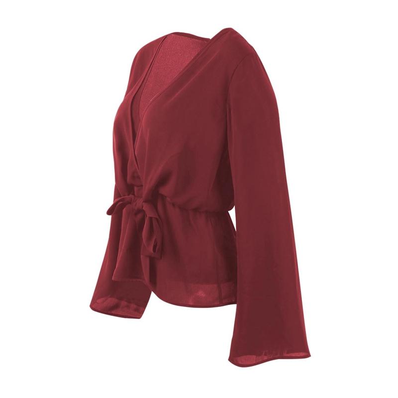 Veste-de-Couleur-Pure-D-039-Automne-A-La-Mode-Pour-Femme-Vetement-Elegant-de-Ta-B7Q4 miniature 11
