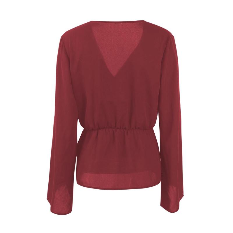 Veste-de-Couleur-Pure-D-039-Automne-A-La-Mode-Pour-Femme-Vetement-Elegant-de-Ta-B7Q4 miniature 12