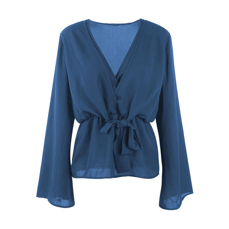 Veste-de-Couleur-Pure-D-039-Automne-A-La-Mode-Pour-Femme-Vetement-Elegant-de-Ta-B7Q4 miniature 17