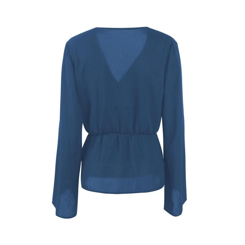 Veste-de-Couleur-Pure-D-039-Automne-A-La-Mode-Pour-Femme-Vetement-Elegant-de-Ta-B7Q4 miniature 19