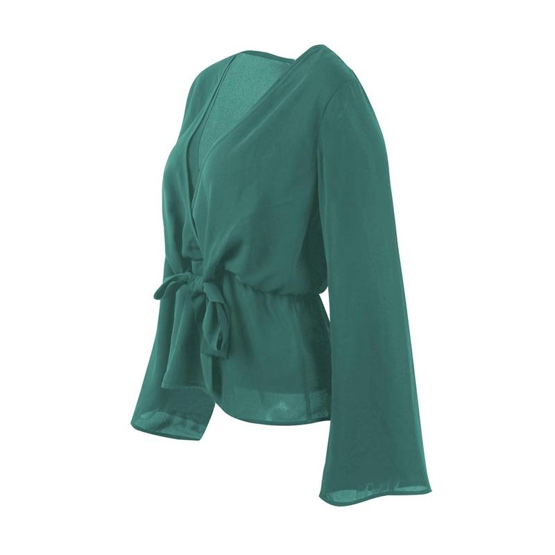 Veste-de-Couleur-Pure-D-039-Automne-A-La-Mode-Pour-Femme-Vetement-Elegant-de-Ta-B7Q4 miniature 29
