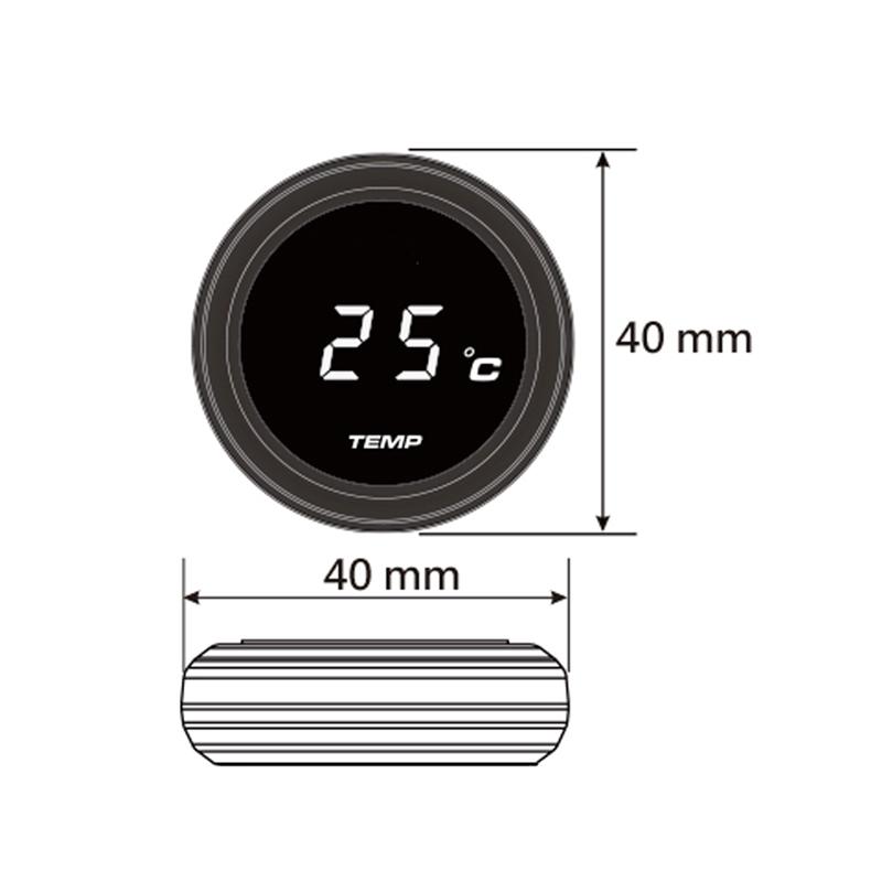 Instrumentos-De-Motocicleta-Universales-Termometro-Temperatura-Del-Agua-Tem-J9I9 miniatura 5