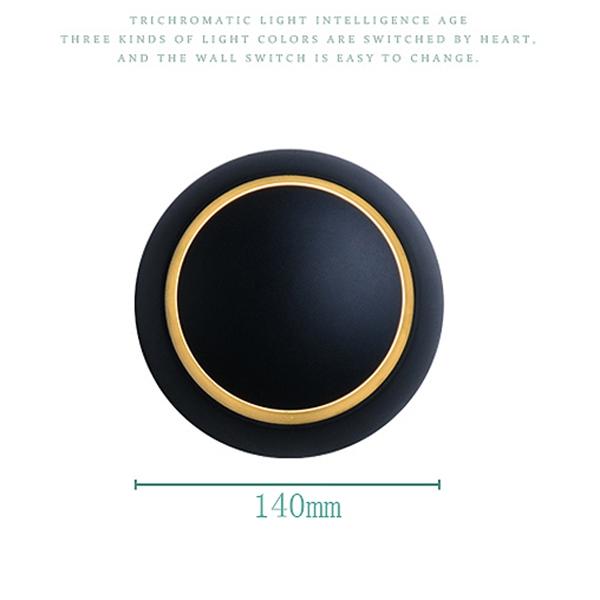 Lampe-Murale-Led-Lampe-de-Chevet-Ajustable-A-360-Degres-Avec-Rotation-Lampe-5S9 miniature 3