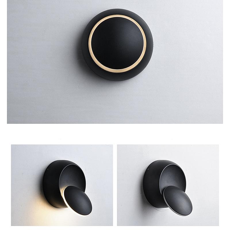Lampe-Murale-Led-Lampe-de-Chevet-Ajustable-A-360-Degres-Avec-Rotation-Lampe-5S9 miniature 4