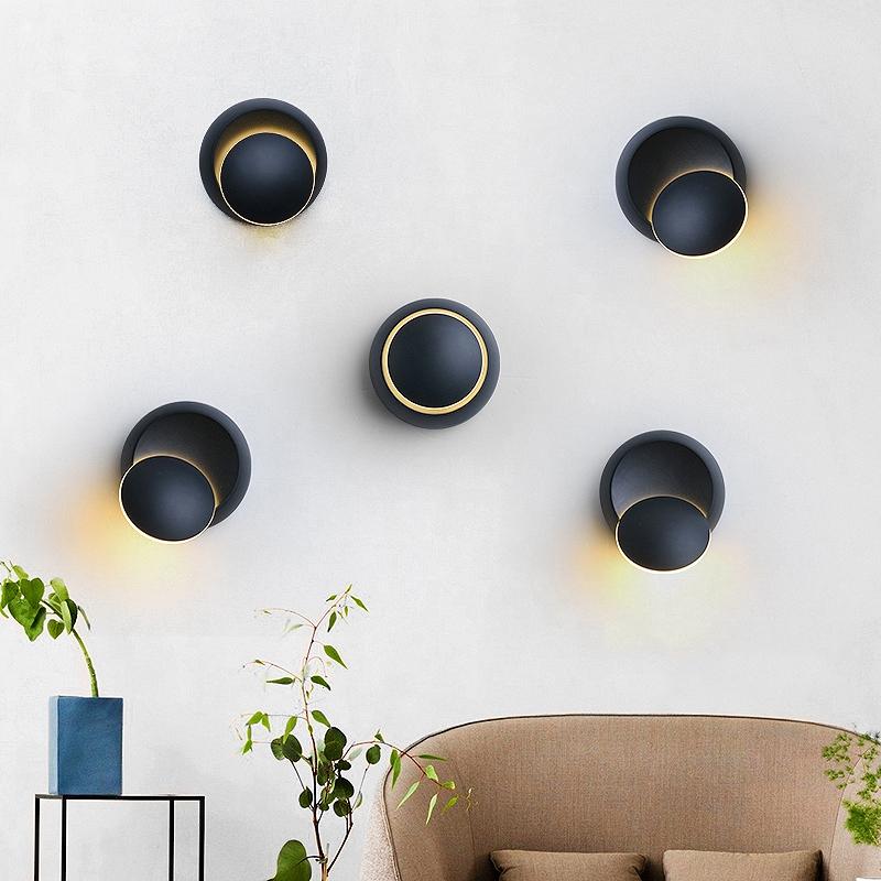 Lampe-Murale-Led-Lampe-de-Chevet-Ajustable-A-360-Degres-Avec-Rotation-Lampe-5S9 miniature 5