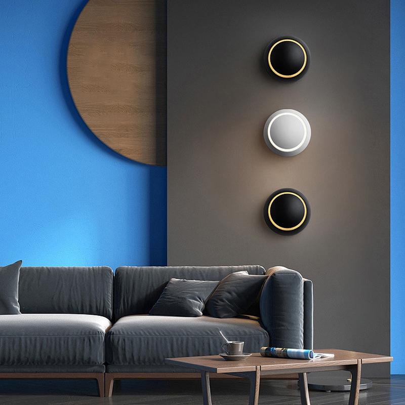 Lampe-Murale-Led-Lampe-de-Chevet-Ajustable-A-360-Degres-Avec-Rotation-Lampe-5S9 miniature 7
