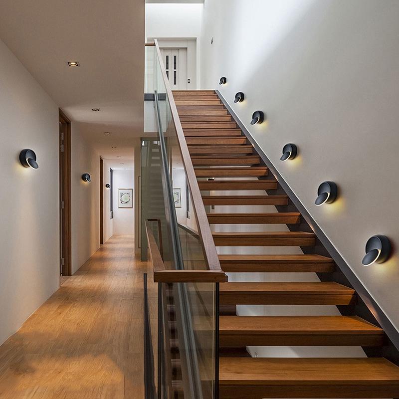 Lampe-Murale-Led-Lampe-de-Chevet-Ajustable-A-360-Degres-Avec-Rotation-Lampe-5S9 miniature 8