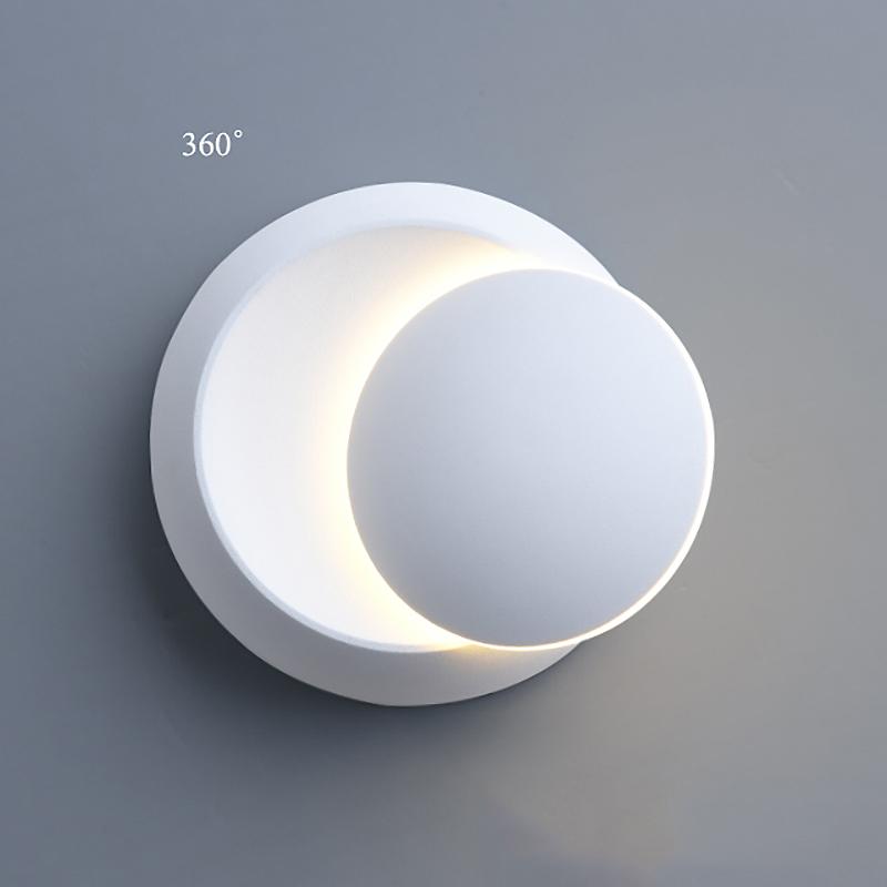 Lampe-Murale-Led-Lampe-de-Chevet-Ajustable-A-360-Degres-Avec-Rotation-Lampe-5S9 miniature 12