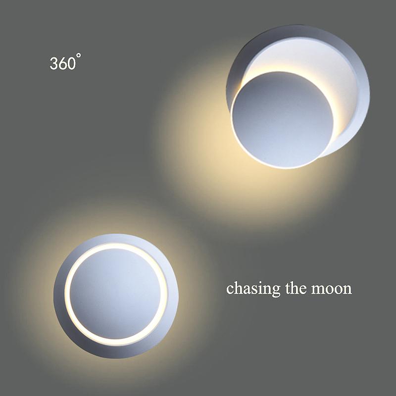 Lampe-Murale-Led-Lampe-de-Chevet-Ajustable-A-360-Degres-Avec-Rotation-Lampe-5S9 miniature 15
