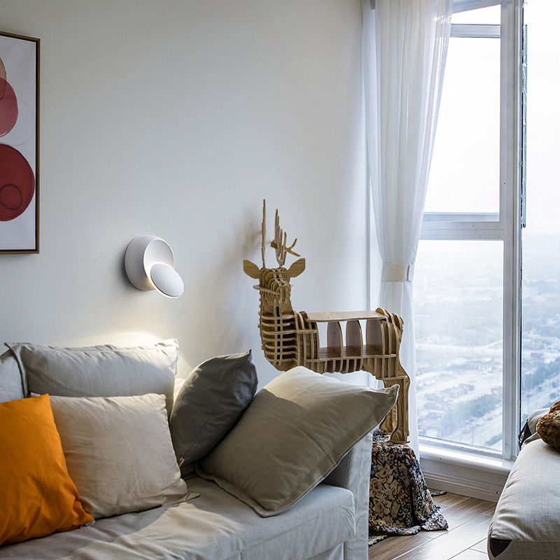 Lampe-Murale-Led-Lampe-de-Chevet-Ajustable-A-360-Degres-Avec-Rotation-Lampe-5S9 miniature 16