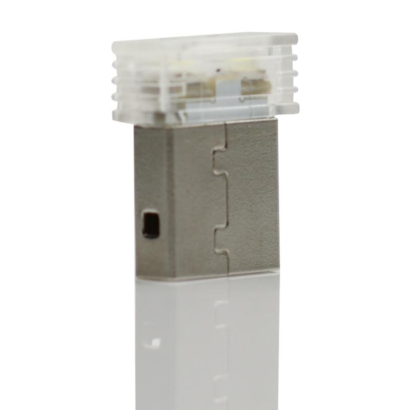 Mini-Usb-Led-Luz-De-La-Noche-Lampara-De-La-Atmosfera-Luz-Del-Coche-P2K5 miniatura 5