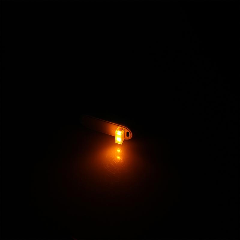 Mini-Usb-Led-Luz-De-La-Noche-Lampara-De-La-Atmosfera-Luz-Del-Coche-P2K5 miniatura 28