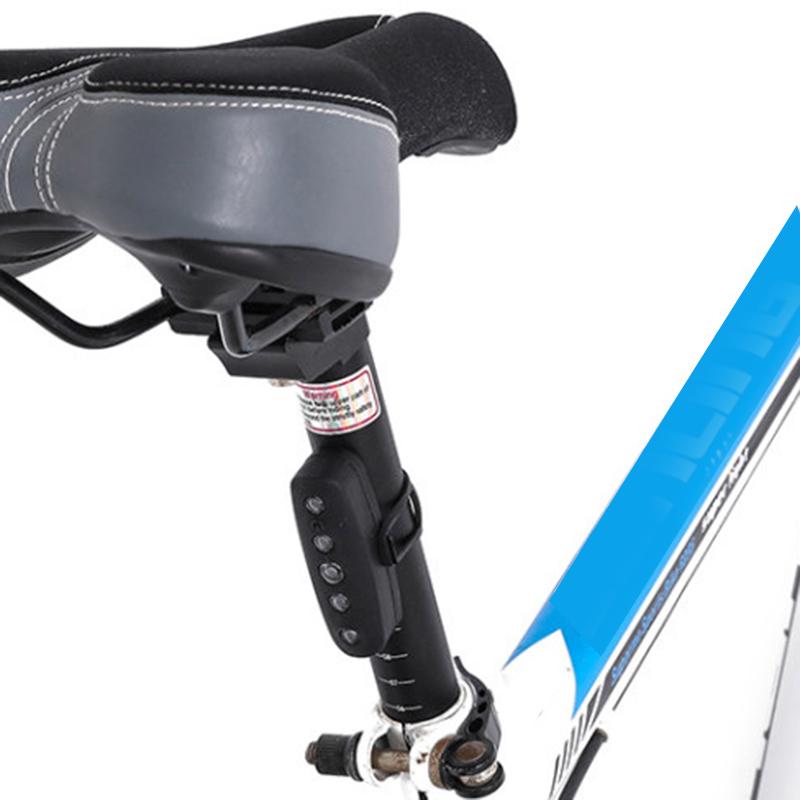USB-Ricaricabile-Bike-LED-Fanale-Posteriore-Bicicletta-Sicura-Luce-Ciclismo-K8V9 miniatura 11