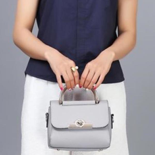 Sac-A-Main-A-La-Mode-Pour-Femme-Sac-A-Bandouliere-Sac-De-Messager-Sacs-A-Ba-Q2J1 miniature 15
