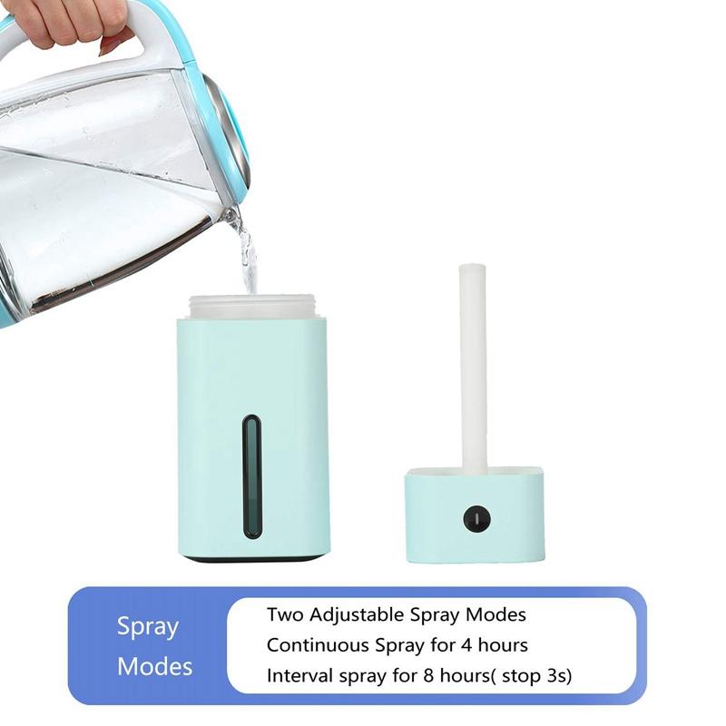 Humidificateur-USB-7-Couleurs-Led-Petit-Humidificateur-A-Pour-Table-Voyage-Y5G8 miniature 12
