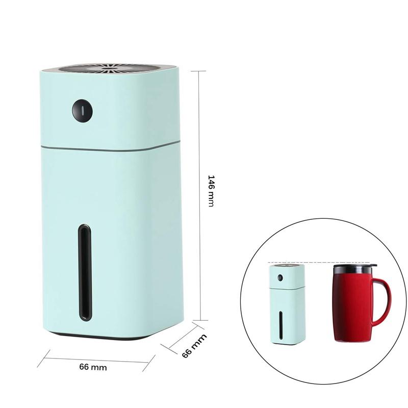 Humidificateur-USB-7-Couleurs-Led-Petit-Humidificateur-A-Pour-Table-Voyage-Y5G8 miniature 14