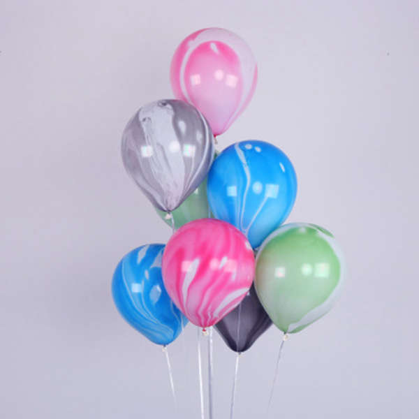 2X-Color-Party-Balloons-7-Packs-Colorful-Cloud-Balloon-Birthday-Party-Dec-T6V2 thumbnail 7