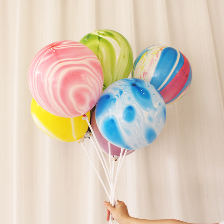 2X-Color-Party-Balloons-7-Packs-Colorful-Cloud-Balloon-Birthday-Party-Dec-T6V2 thumbnail 34