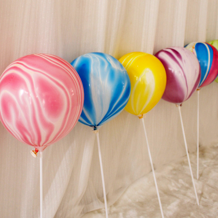 2X-Color-Party-Balloons-7-Packs-Colorful-Cloud-Balloon-Birthday-Party-Dec-T6V2 thumbnail 41