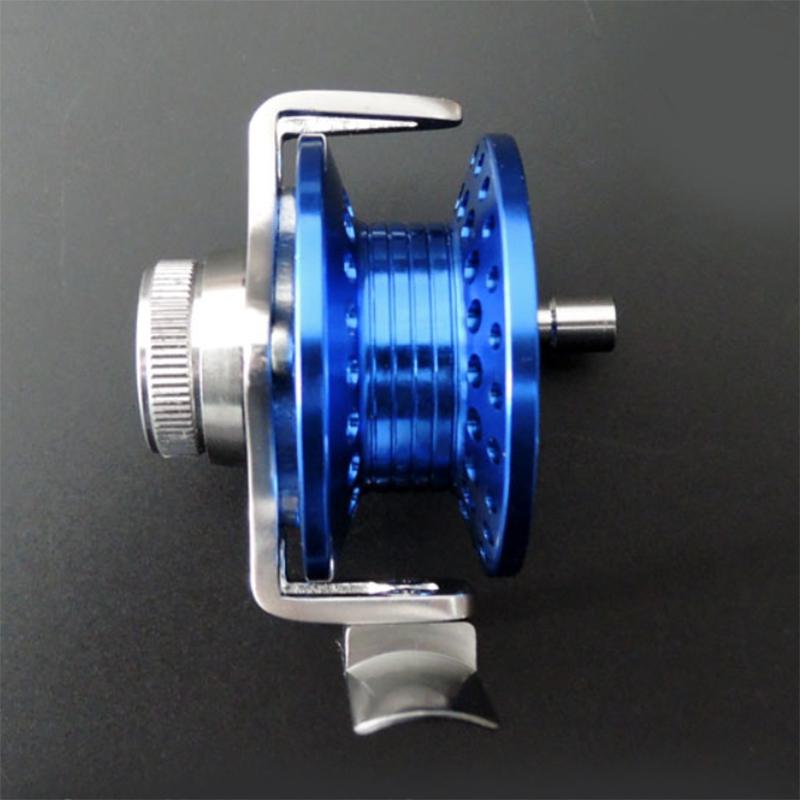roue-de-Ligne-de-poisson-Avec-traine-Moulinet-de-peche-sur-glace-moulinets-3F9 miniature 6